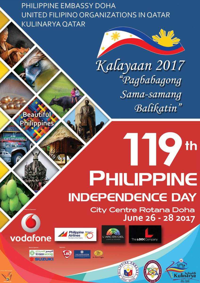 PIDC 2017 PRIMER Philippine Independence Day Celebration in Doha