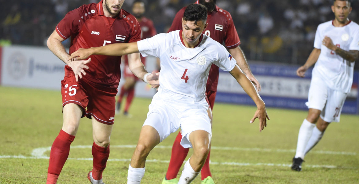 Philippines  vs Syria  World Cup and AFC Asain Cup Qualifier